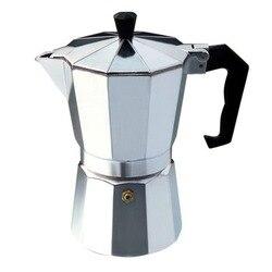 Aluminiowy zestaw do mokki Octangle ekspres do kawy mokka czarna kawa kawa włoska praktyczny prezent łatwe do czyszczenia w Dzbanki do kawy od Dom i ogród na