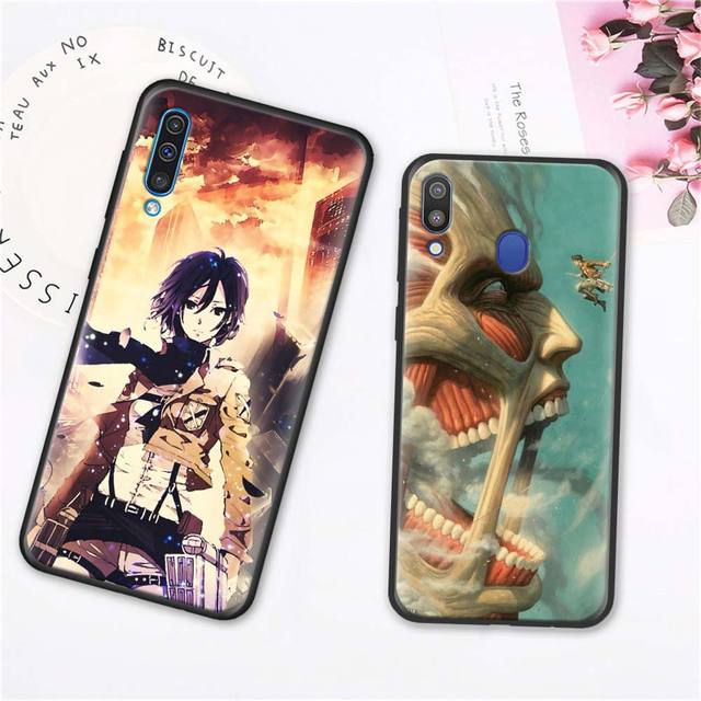 Attack On Titan Soft Case Cover for Samsung Galaxy A Series