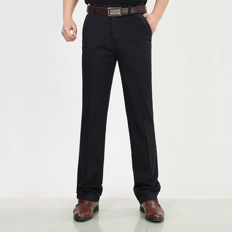 Hombre De Mediana Edad Desgaste Del Trabajo Oficina Traje Pantalones