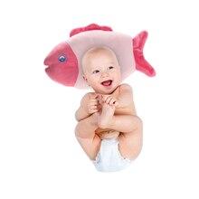 Baby Pillow Newborn Infant Prevent Flat Head Soft Sleeping Positioner Fish Children Sleep Bedding Head Pillow Protection