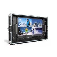 Free ship Lilliput BM150 4K Broadcast 15.6 4K Director Monitor ULTRA HD 6U Rack HD SDI Monitor 3840x2160 SDI HDMI Tally VGA