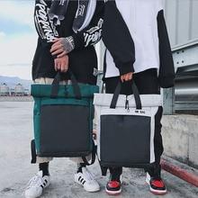 Moda plecak na co dzień Unisex Trend kobiety Bagpack prosta codzienna torba wielofunkcyjna torba o dużej pojemności lekka zieleń