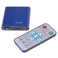 Mini 1080P UISB SD MMC HD HDMI A V Port TV Audio Multi Media Player MKV