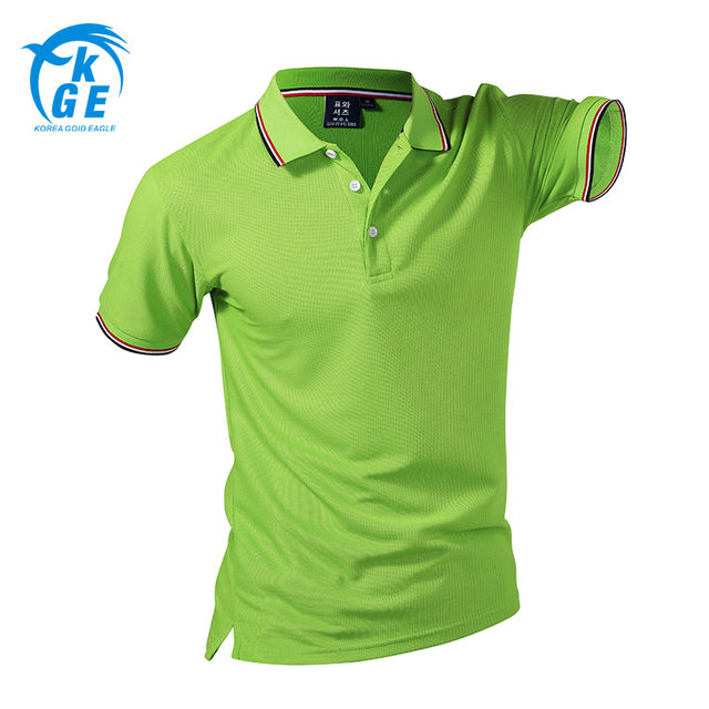 [Can Custom LOGO] Men 2017 Branded Polo Shirt Short Sleeves Slim Fit Solid Cotton Camisa Polos Clothing Famous Hombre Plus Size