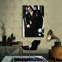 סיטונאי גברים דמות ציור שמן שצויר ביד על בד לעיצוב בית וול דקור 24x36 סנטימטרים