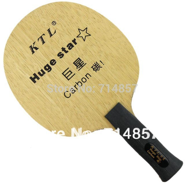 Original KTL Huge Star table tennis blade for  ping pong racket Anatomical Handle (AN) yinhe earth 4 e4 e 4 e 4 shakehand table tennis ping pong blade