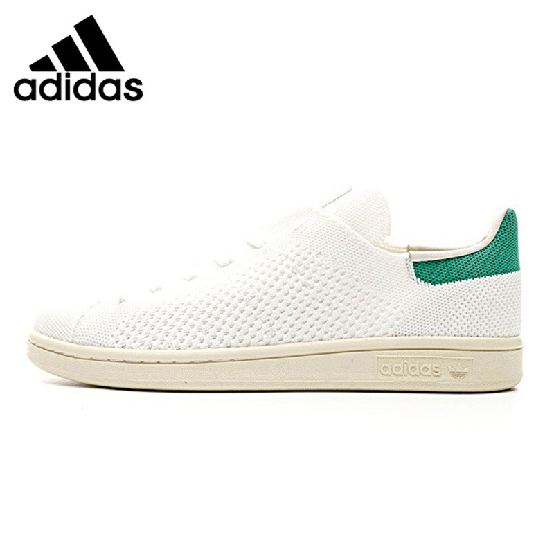 Adidas Clover STAN SMITH OG for Men and Women Walking Shoes, Green Blue, Breathable Wear-resistant Non-slip S75146 S75148 adidas clover gazelle men s and women s walking shoes pink breathable wear resistant lightweight non slip bb5264