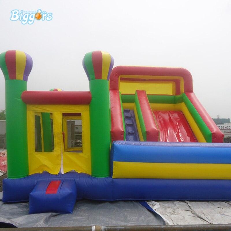 Combo gonflable extérieur de videur de maison de rebond de château plein d'entrain avec des souffleurs
