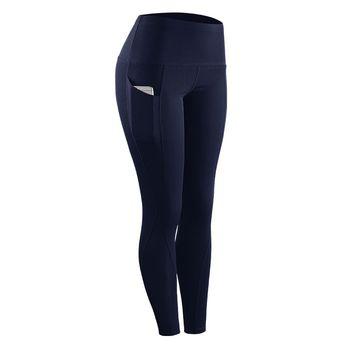Mulheres equitação de fitness elástico compressão leggings de cintura alta esportes leggings cinto de treinamento calças de fitness