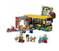 Mylb Genuine City Series The Bus Station Set Building Blocks Bricks Educational Toys As Funny Christmas