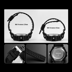 Image 5 - SKMEI Digital Watch Men S Shock Sports Watches Military Waterproof Big Dial Dual Display Quartz Clock Men Relogio Masculino 1357