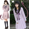 Noragami Yukine Iki Hiyori School Uniform Sailor Suit Tops Skirt Dress Outfit Anime Cosplay Costumes