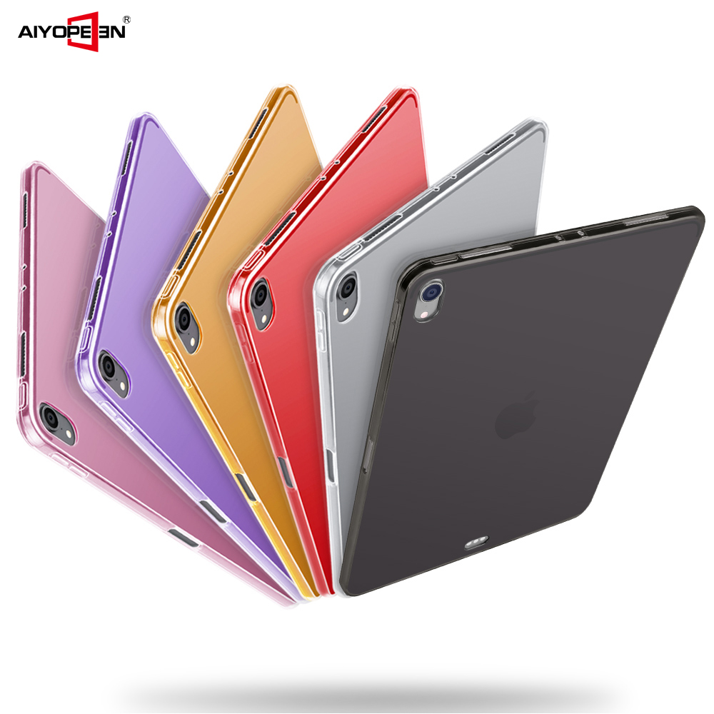 Case For IPad Pro 11 2018 Cover AIYOPEEN Soft Silicone Case Full Protection For IPad 2018 Pro 11 Case Transparent  Cover Case