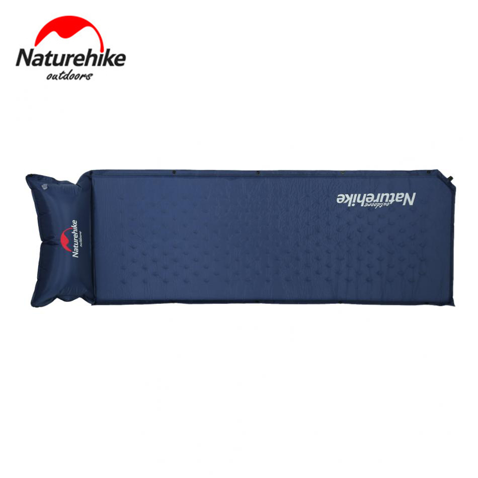 Naturehike Sleeping Bag Dampproof Sleeping Pad Thicken Automatic Inflator Outdoor Sleeping Mattress Camping For camping hiking harlem hl 255 outdoor dual layers thicken camping sleeping bag green grey