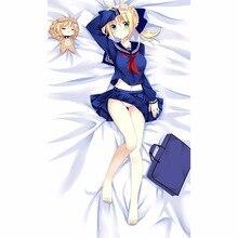 Фотография Fate Saber Anime 3D Bedding Bed Sheet Bedsheet Quilt 150*200cm Animation Blanket