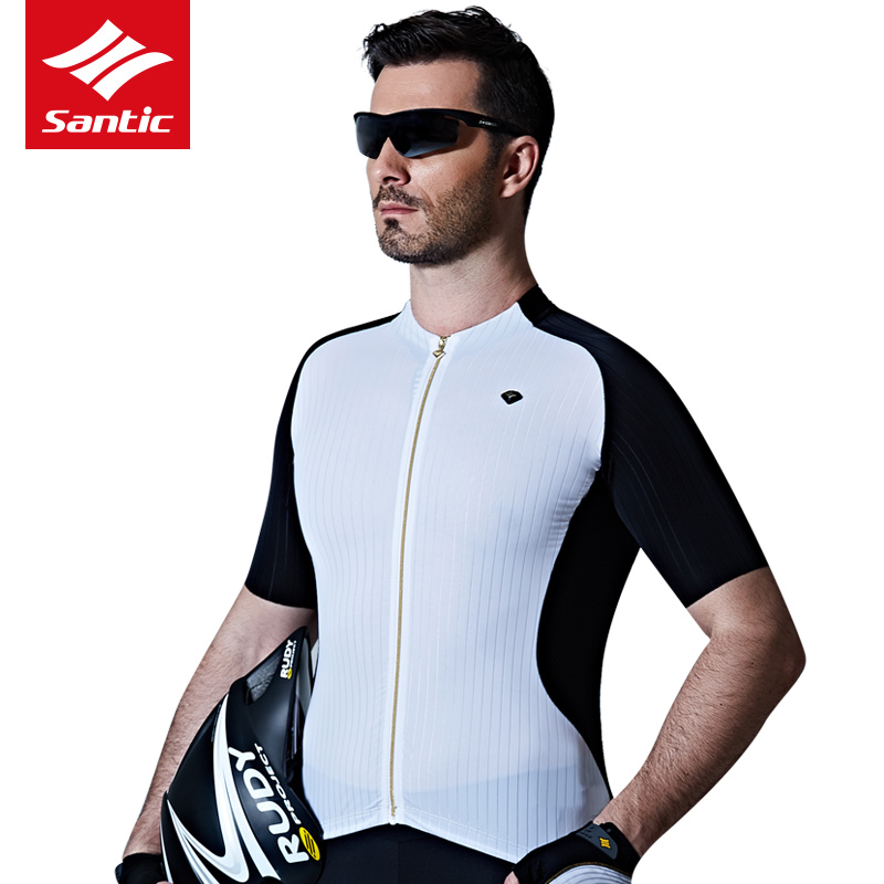 Santic Summer Cycling Jersey Men 2017 PRO Team Racing MTB Road Bike Jersey Shirt Short Sleeve Bicycle Clothing Maillot Ciclismo santic men short sleeve cycling jersey breathable summer cycling clothing mtb road downhill bicycle bike jersey anti sweat