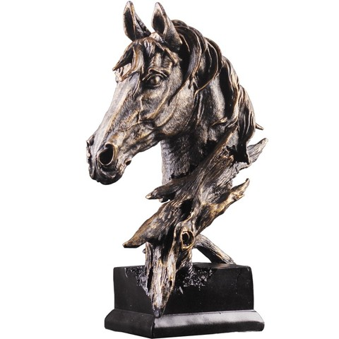 Sala de Desenho Cavalo Abstrato Estátua Escultura Artesanato Estatueta Casa Acessórios Decoração Escritório Arenito