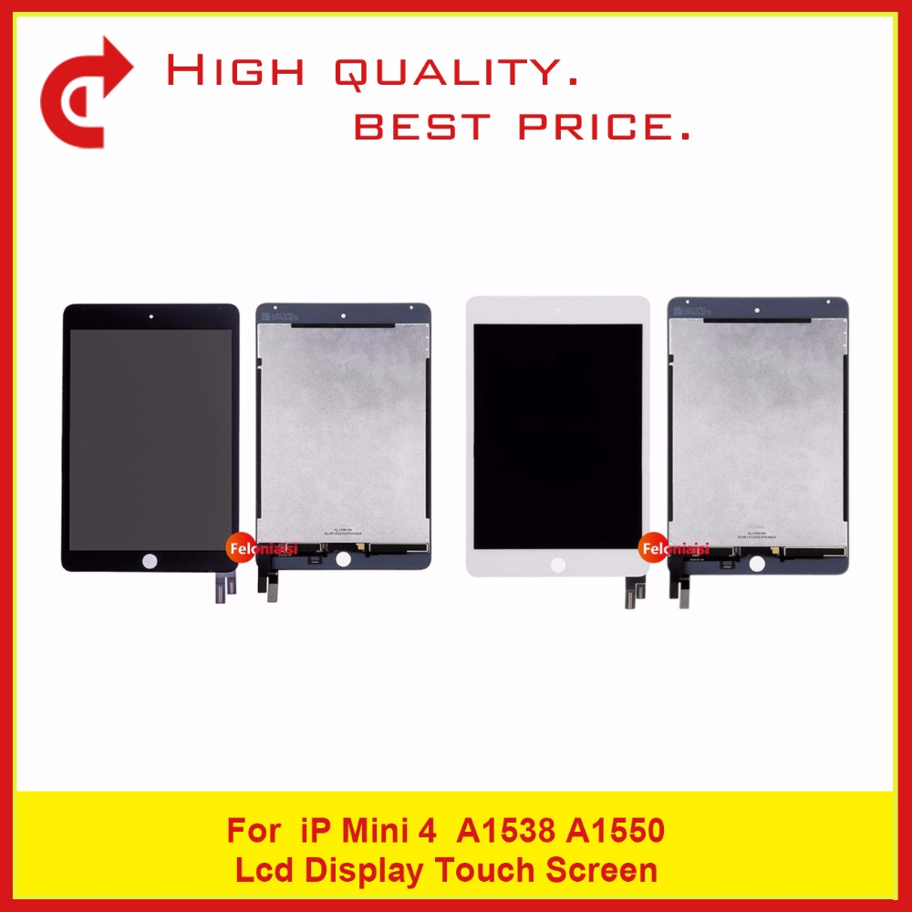 5Pcs/Lot free DHL High Quality 7.9 For iPad mini 4 A1538 A1550 Full Lcd Display With Touch Screen Digitizer Assembly Complete wholesale 5pcs lot free shipping via dhl for ipad mini 1 lcd display original quality replacement new screen
