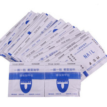 Wraps-Remover-Cleaner Nail-Removal Acrylic Acetone-Kit Gel-Polish Lacquer Soak-Off 10pcs
