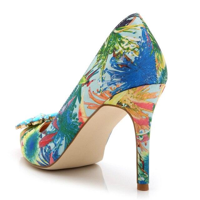 Women's #shoes big diamond high heels #Fashion #boygrl #heel 5