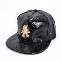 Monstercat Rock Men And Women Snapback Hat Bone Breathable Chapeu Summer Casual Men Baseball Caps Snakeskin