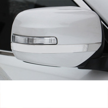 Lsrtw2017 Abs Car Rearview Anti-scratch Trims for Mitsubishi Pajero Sport Montero 2008 2009 2010 2011 2012 2013 2014 2015 2016 недорого