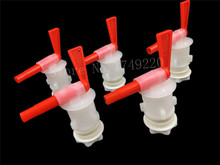 5pcs/lot,Bottling Bucket Plastic Spigot,Tap replacement spigot For Homebrew Beer Wine Bottling