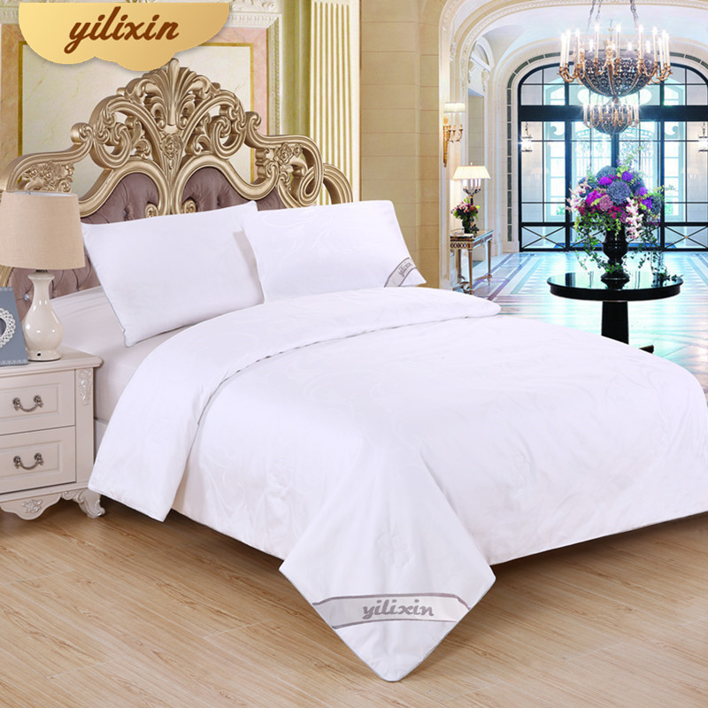 YILIXIN Natural Winter Silk Duvet Comforter Baby Quilt Good Warm Subtle Soft Cotton Blanket White Silk Quilts For Wedding Gift