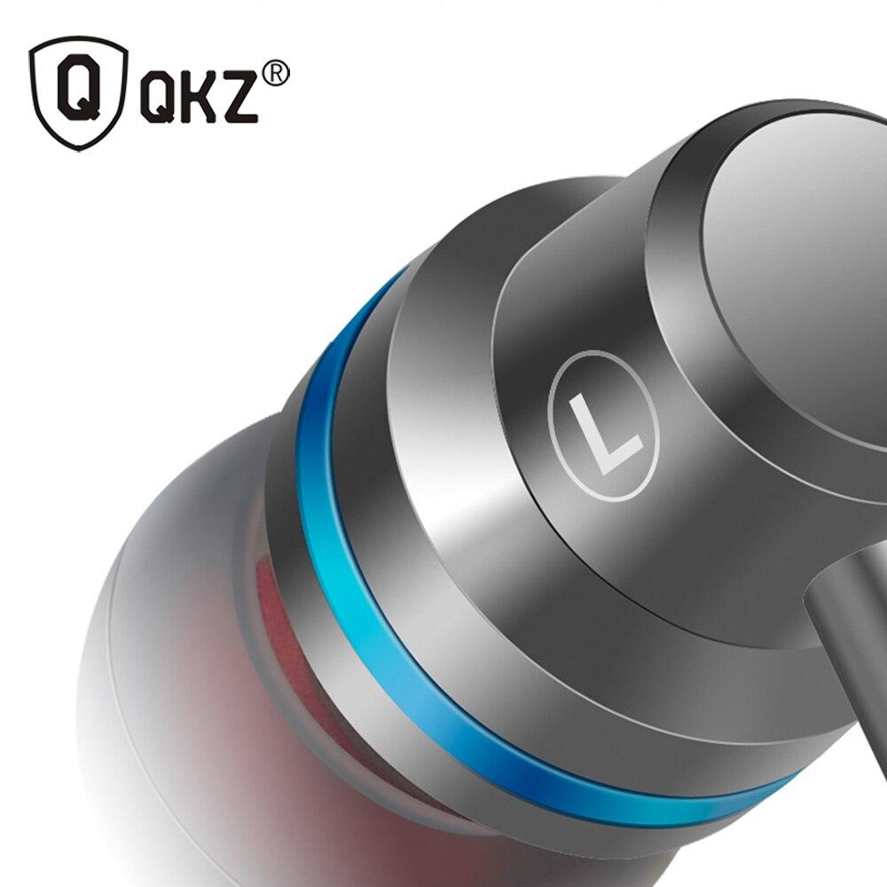 Qkz original DM1 HiFi in-ear auriculares sonido música dj Auriculares auriculares universal 3.5mm Jack Fone de ouvido auriculares audifonos
