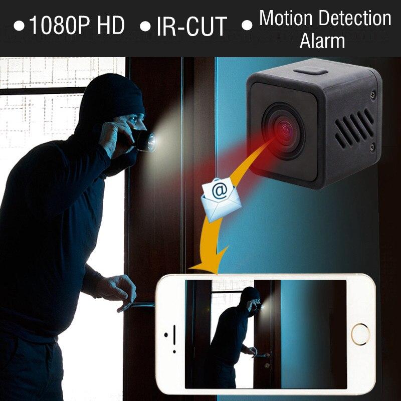 1080 p HD Mini WIFI IR-CUT Caméra Sans Fil Infrarouge de Vision Nocturne Petit Cam wi-fi IP Micro Caméscope À Distance Alarme Enregistreur DV DVR