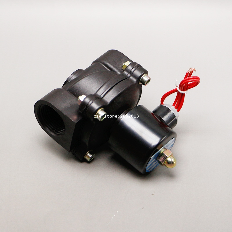 Plastic water electromagnetic solenoid valve anticorrosion for Plastic water valve types