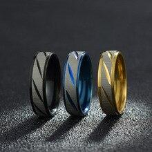 Мужское кольцо из титановой стали