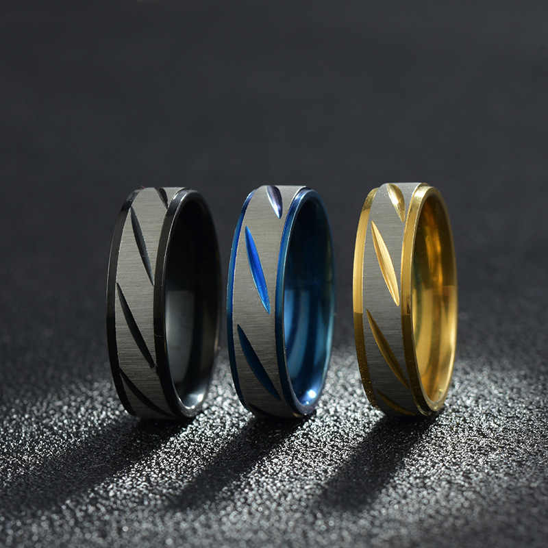 Titanium Steel Men's Ring