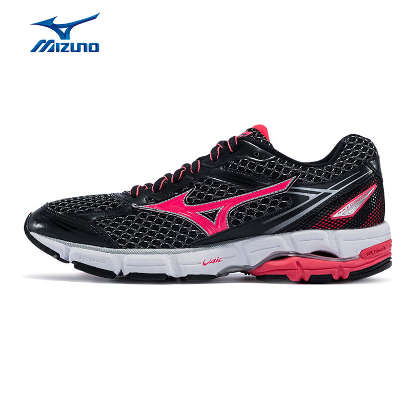 цена на MIZUNO Men's WAVE CONNECT 3 (W) Jogging Running Shoes Cushioning Breathable Wave Sports Shoes Sneakers J1GD164864 XYP489