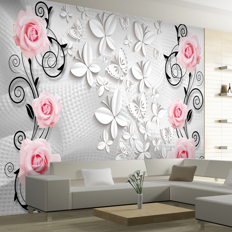 Beibehang abstract modern photo wallpaper murals for living room three dimensional mural wall paper 3d wallpaper for walls 3 d in wallpapers from home