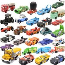 Disney pixar carros 3 diecasts veículos de brinquedo miss fritter relâmpago mcqueen jackson tempestade cruz ramirez metal modelo de carro brinquedo do miúdo presente