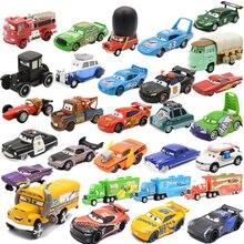 Disney coches de juguete de Pixar Cars 3 para niños, modelos de coches de Metal, Rayo, McQueen, Jackson, Storm, Cruz Ramirez