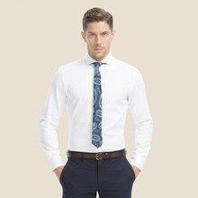 2017 SmartFive Brand Mens Dress Shirts 100% Cotton Long Sleeve Mens Clothing Party White Shirt Men Camisa Social Masculina A