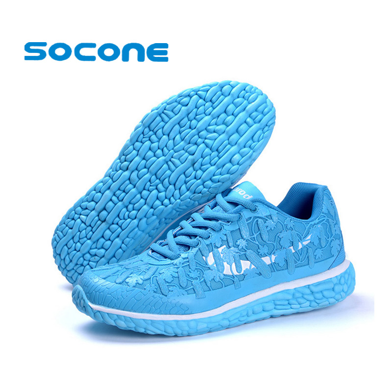 Socone Breathable Sport Shoes Woman 2015 Summer Light ...