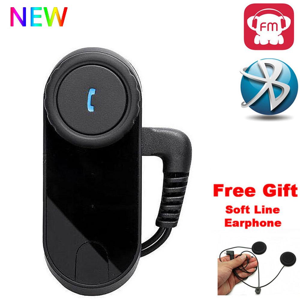 FreedConn T COM FM Bluetooth Motorcycle Helmet Intercom Interphone Headset Domofon Interfone Microphone For Full Face Helmet