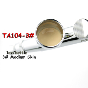 Image 2 - OPHIR PRO Airbrush Face Make up Concealer Foundation Spray Air Makeup Foundation for Airbrush Kit 1oz/Bottle _TA104