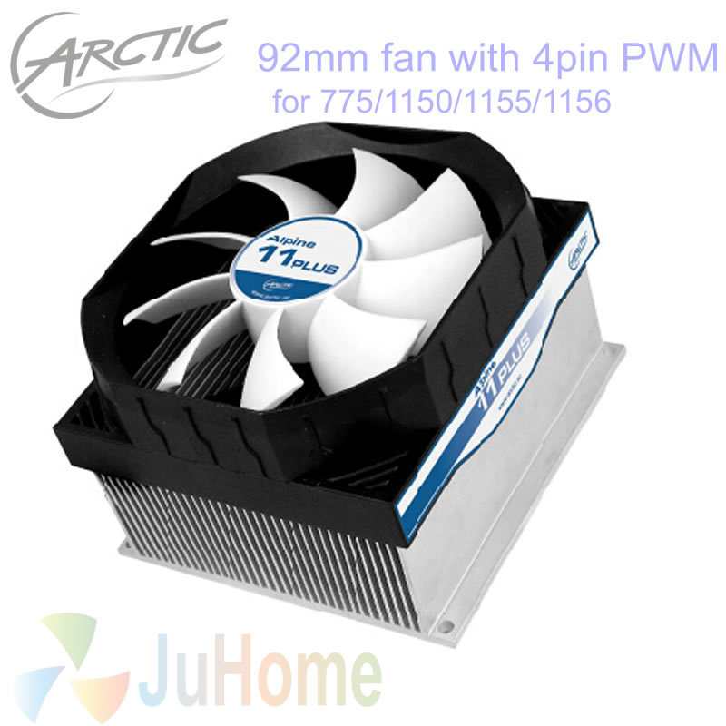 4pin PWM, 90mm, 92mm fan, TDP 100W for Intel LGA775 1150 1151 1155 1156, CPU cooler fan cooling, ARCTIC Alpine 11 PLUS 4pin pwm turbo cooling fan utral thin 29mm w mounting bracket for 1u server cpu cooler pc cooling for intel lga1151 1150 1155