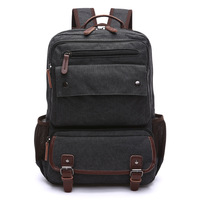 Z L D Canvas Mens Backpack Carry On Luggage Bag Multifunction Business Travel Backpacks Teenager School