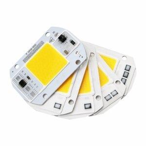 LED COB Lampe Chip 10 W 20 W 30 W 40 W 50 W AC 110 V 220 V Smart IC LED Perlen DIY Für LED Flutlicht Scheinwerfer Kaltes Weiß Warm Weiß