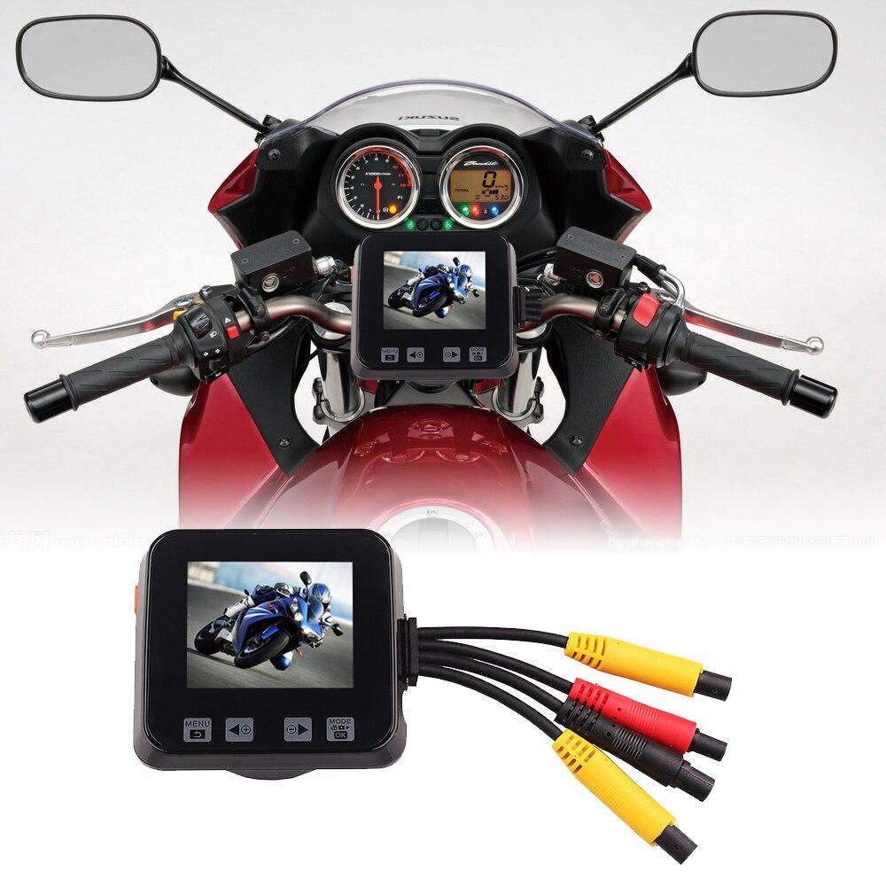 Жаңа келу C6 мотоциклі DVR 2.0 «Touch Key Full HD - Мотоцикл аксессуарлары мен бөлшектер - фото 5