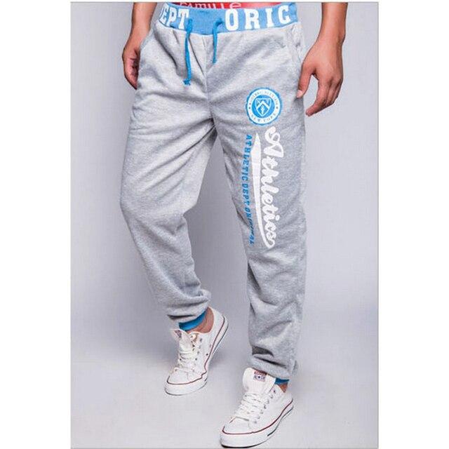 2016 street wear hip pop type letter printed harem pants men cotton trousers male Casual Men pants/ men's Joggers pants men