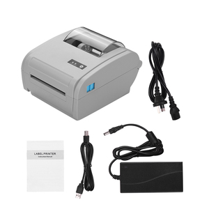 Image 5 - 9210U משולב שולחן העבודה 110mm נייר תרמי מדפסת ברקוד USB BT תווית מדפסת תקשורת ממשק תווית יצרנית
