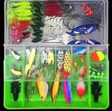 Lu Ya Bait 101pcs / Box Multi-function Fishing Set Gear Free Shipping