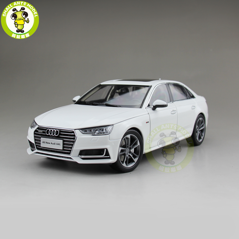 1 18 Audi A4 A4L Diecast Metal Car Model Toy Boy Girl Kids Gift Collection White