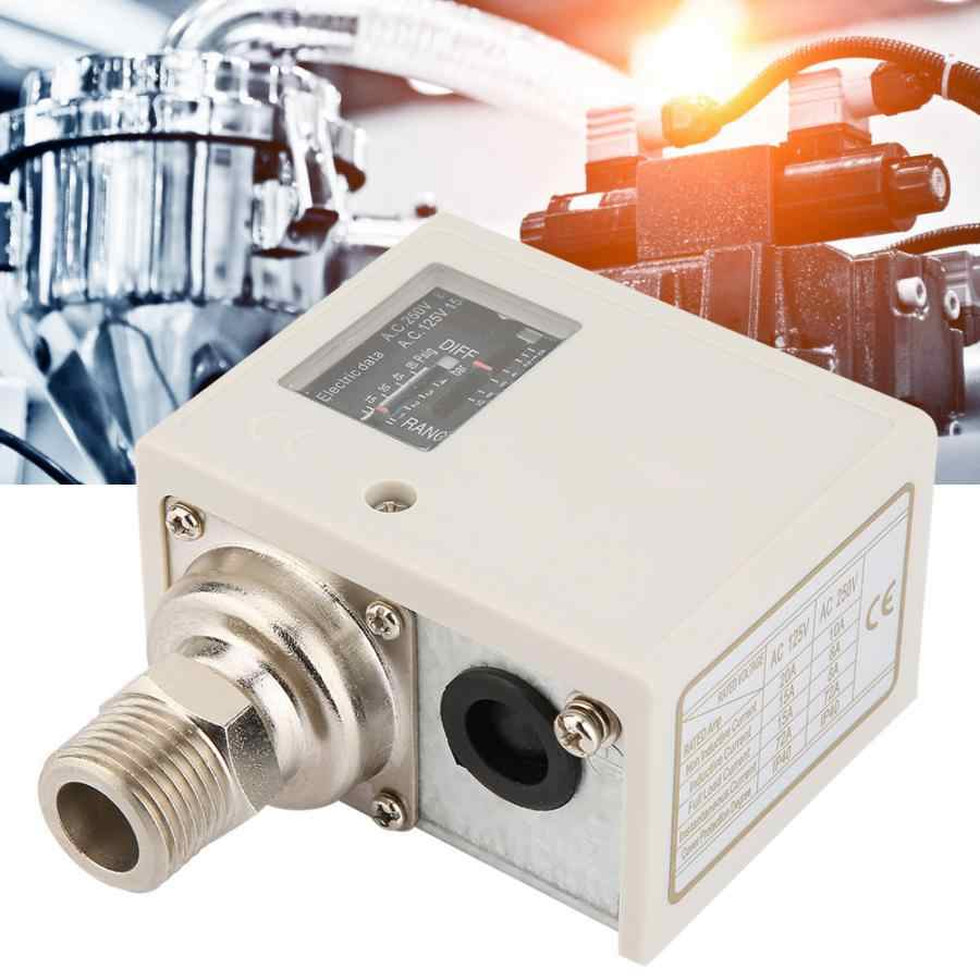 Wyłącznik ciśnieniowy elektronicznych G1/2 ''wyłącznik ciśnieniowy powietrza pompa wody regulator przełącznik ciśnienia sprężarki powietrza